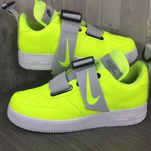 Nike Air Force 1 Utility volt/white-black
